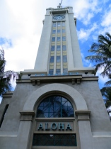 Aloha Tower, Honolulu, Hawaii