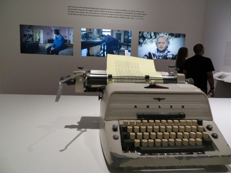 "The original typewriter used in ""The Shining""."