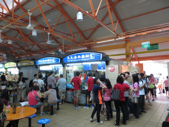 Tian Tian Hainanese Chicken Rice, Maxwell Road Hawker Centre