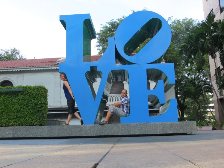 Love sculpture, Singapore