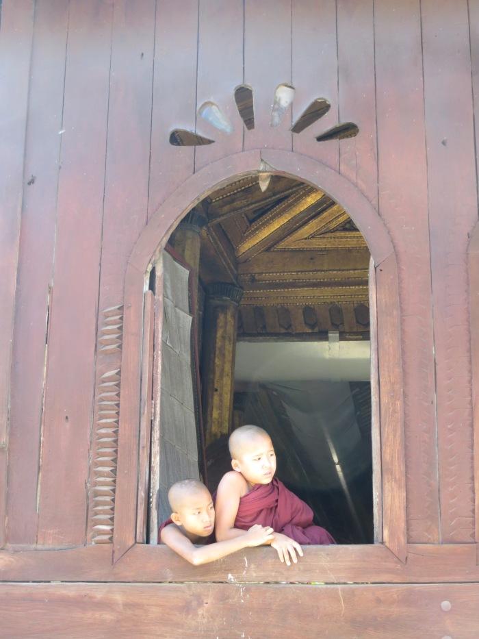 A monastery outside Nyaung Shwe, Myanmar