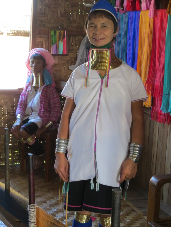 Long neck ladies, Inle Lake, Myanmar