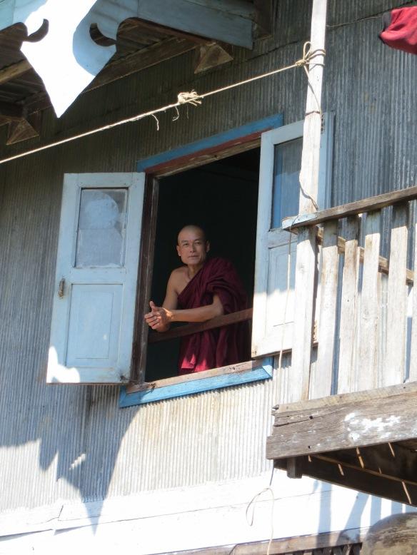 Monestary on Inle Lake, Myanmar