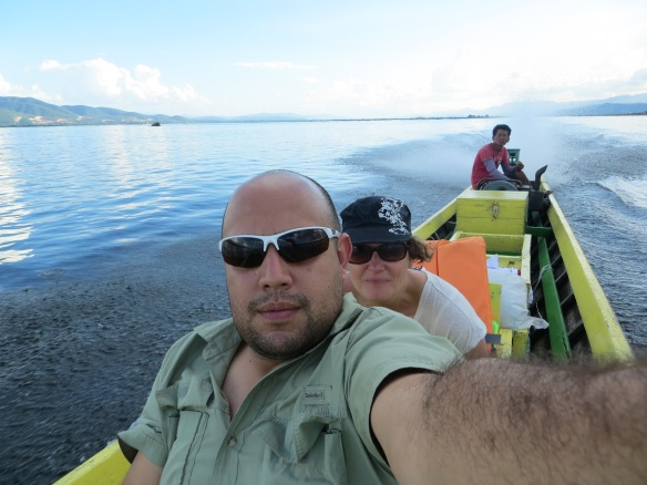 Spending the day on Inle Lake, Myanmar