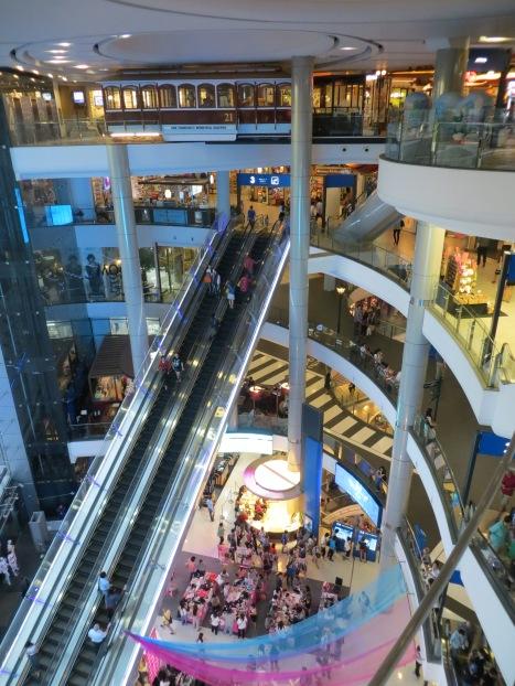 Terminal 21 Shopping Centre in Bangkok, Thailand