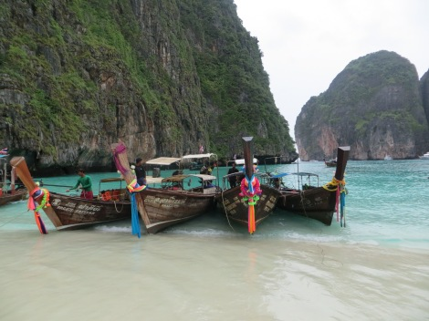 Maya Beach on Ko Phi Phi Don Island, Thailand