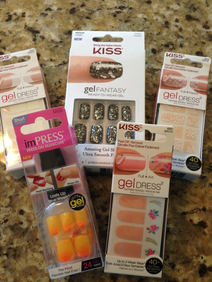 Fun nail accessories that I got for attending the second taping of the Steven and Chris show that day.