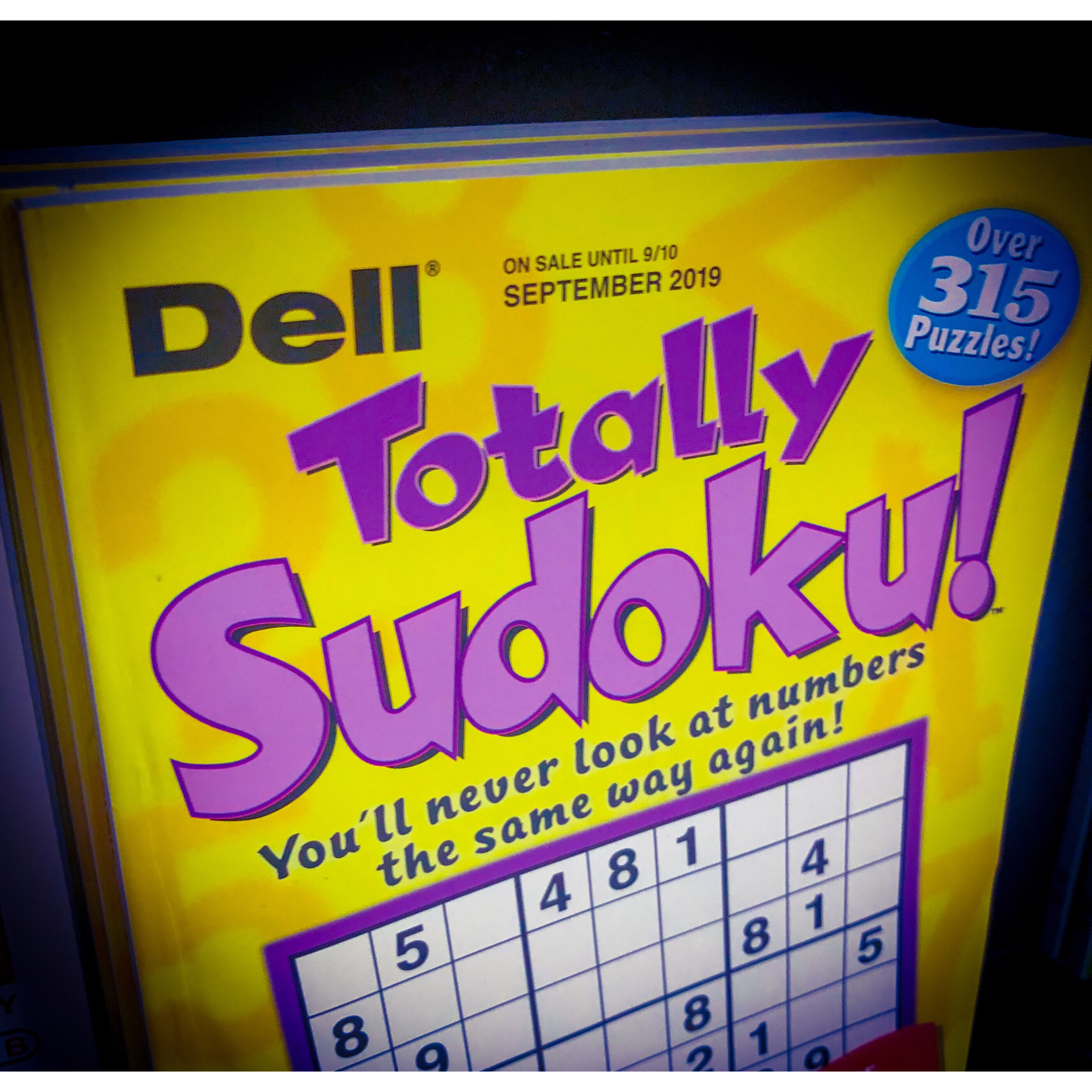 Sudoku puzzle game book
