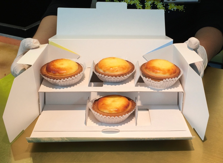 BAKE Japanese Cheese Tarts, Japan