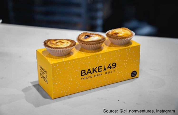Bake49  Japanese Cheese Tarts, Vancouver, BC, Canada