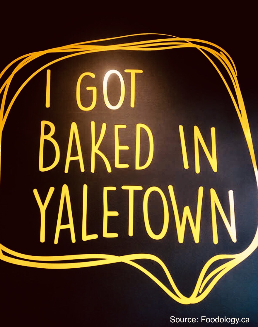BAKE49 in Yaletown, Vancouver, BC, Canada